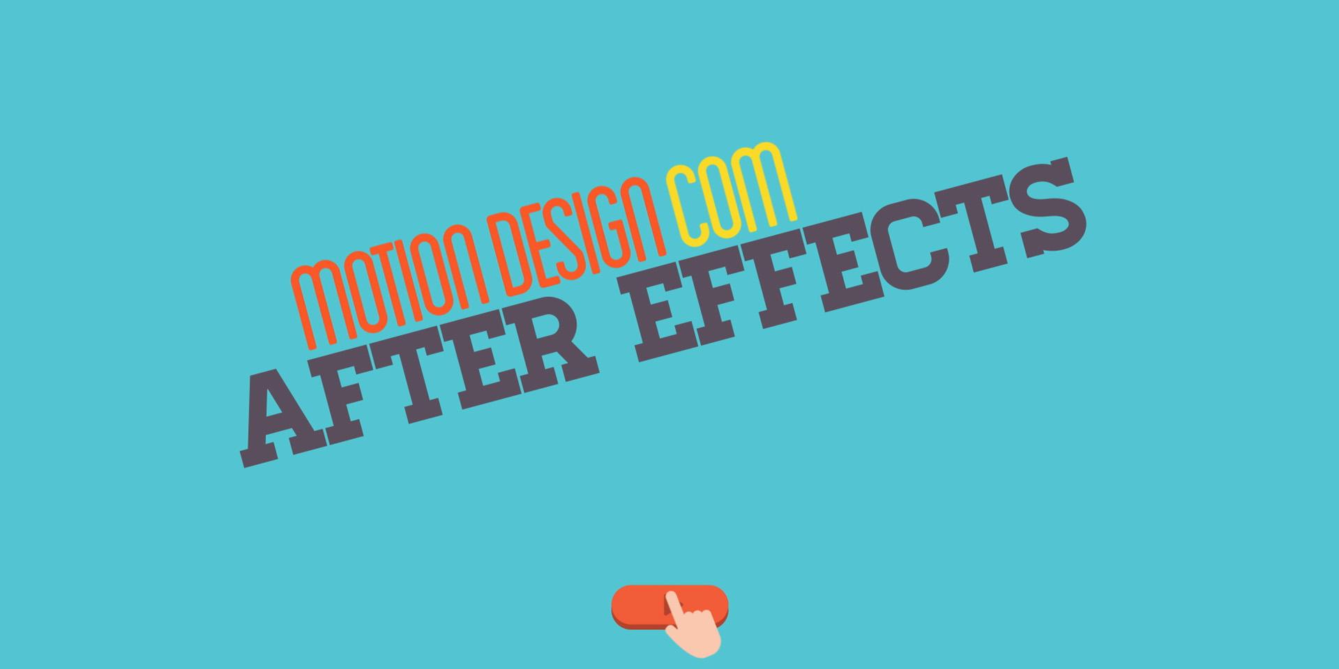 Matricule-se: Motion Design com After Effect v1.0 – Curso Online